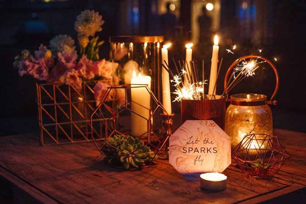 Wedding sparklers available from @theweddingomd