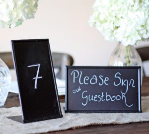 blackboard sign free standing