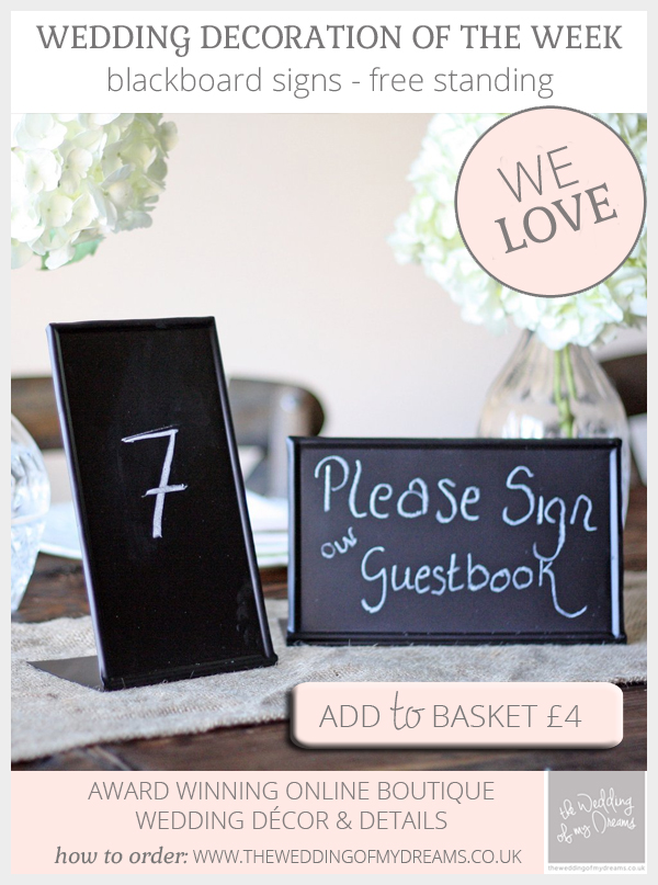 blackboard signs wedding free standing