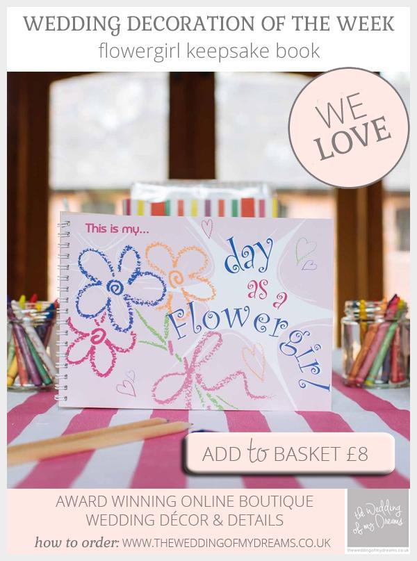 flowergirl keepsake books