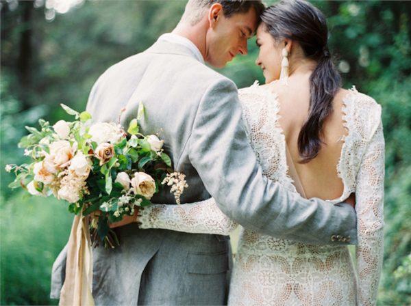 personalised wedding bouquets oncewed.com - erichmcvey.com