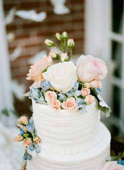 peach and blue wedding decorations and ideas (1)
