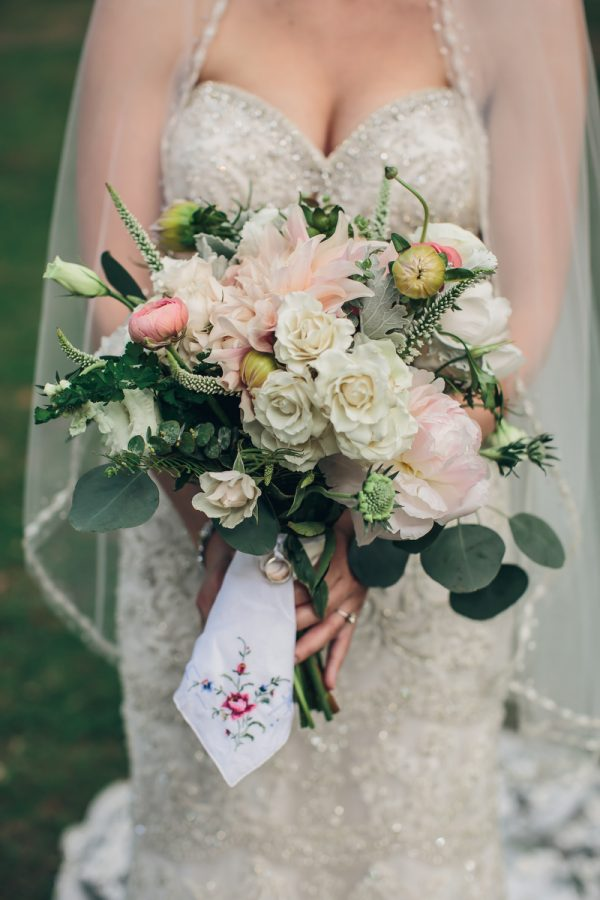 personalised wedding bouquets theeverylastdetail.com - charlestonwedding.com