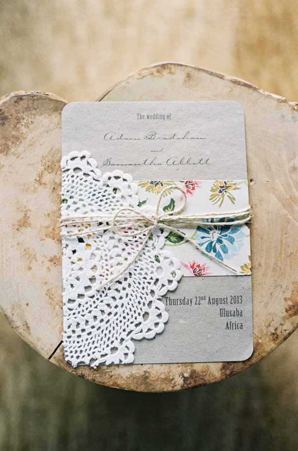 a roll of twine available from @theweddingomd wedding stationery weddingsparrow.com - featherandstone.co