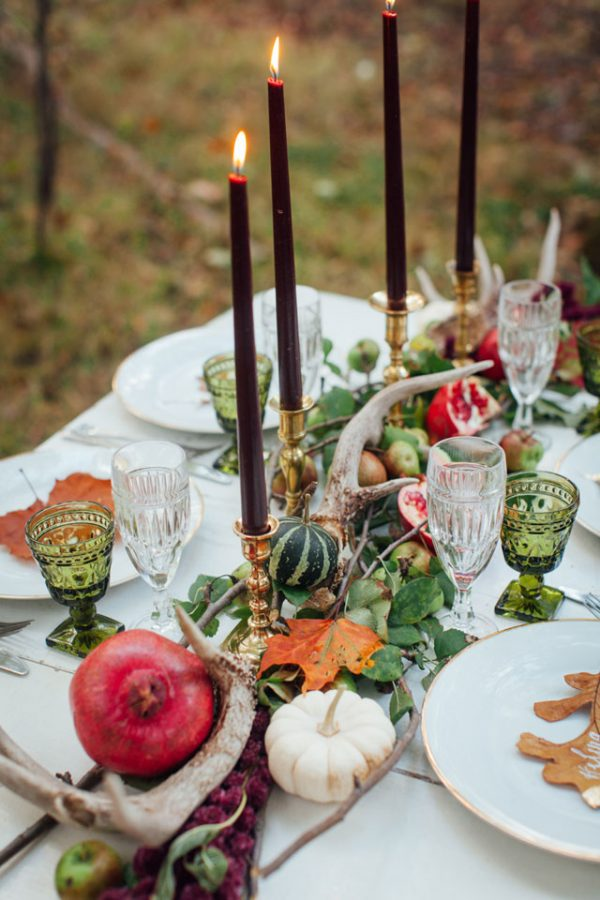 autumn wedding centrepieces artfullywed.com - artemis-portraits.com