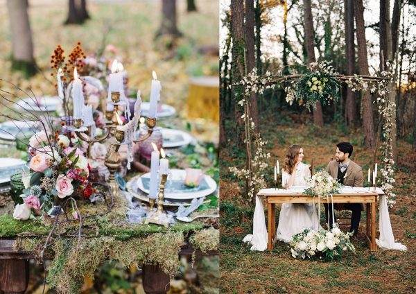 woodland inspired wedding