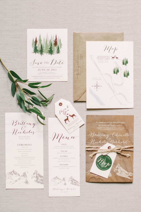 woodland inspired wedding stylemepretty.com - corrinawalker.com