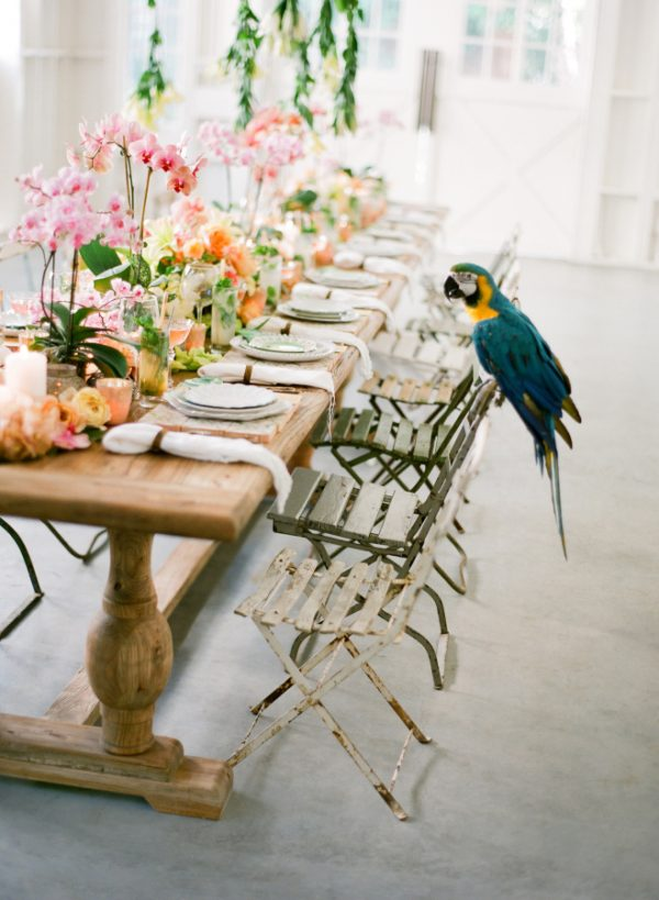 tropical wedding theme stylemepretty.com - josevilla.com