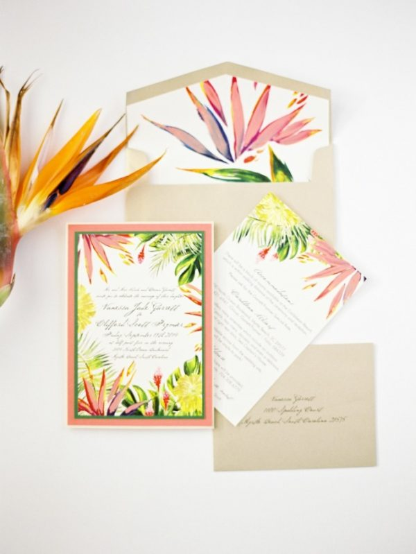 tropical wedding theme stylemepretty.com - paulaplayer.com