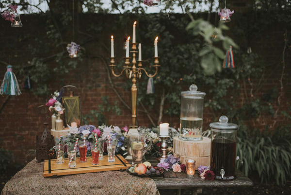 elegant wedding drinks stations by the wedding of my dreams