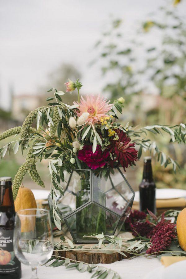 pumpkin wedding centreppieces bridalmusings-com-elliekoleenphotography-com