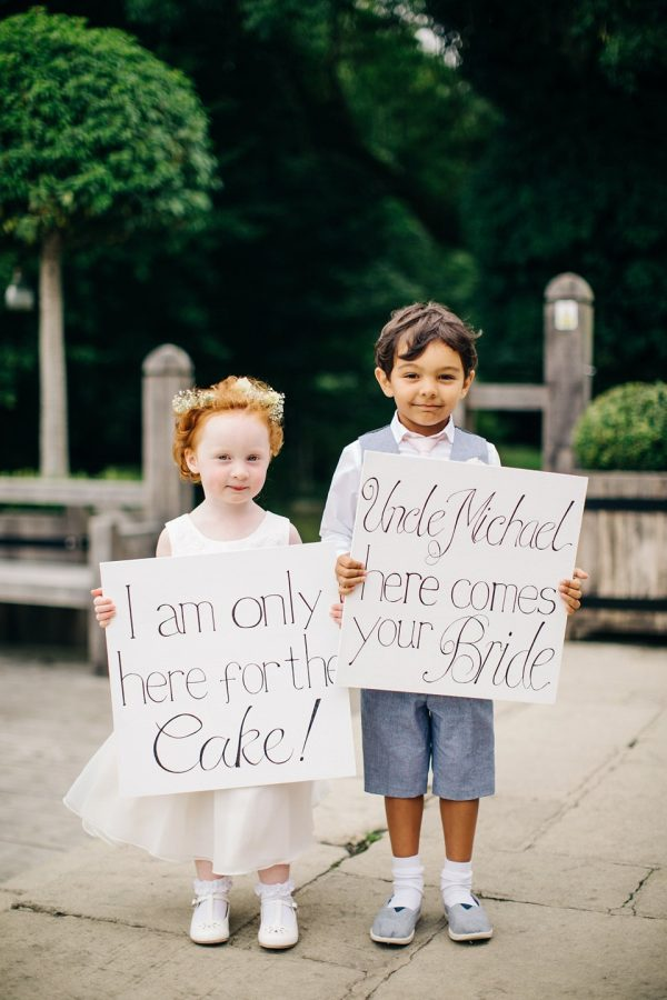 cute signs for flower girls and page boys lovemydress-net-mandjphotos-com