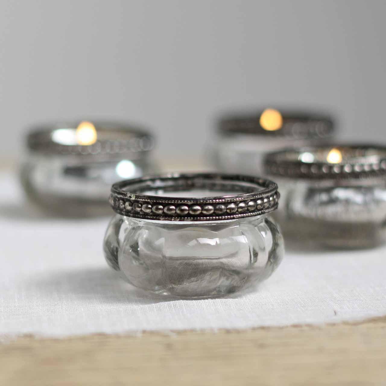 mini-clear-glass-tea-light-holders-with-metal-rim