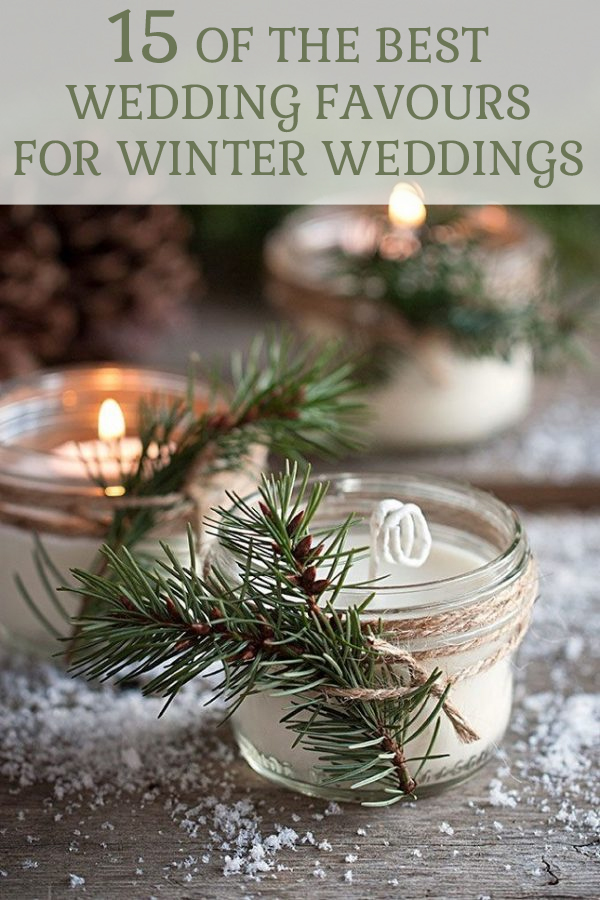 15 best wedding favorus for winter weddings put together by The Wedding of my Dreams @theweddingomd