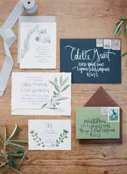 Sage green and blue wedding wedding decorations and ideas