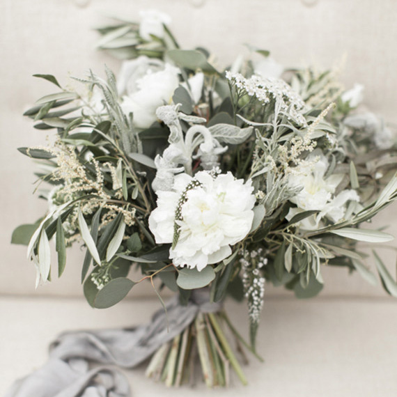 An olive green and grey wedding colour scheme - Olive green and grey ...