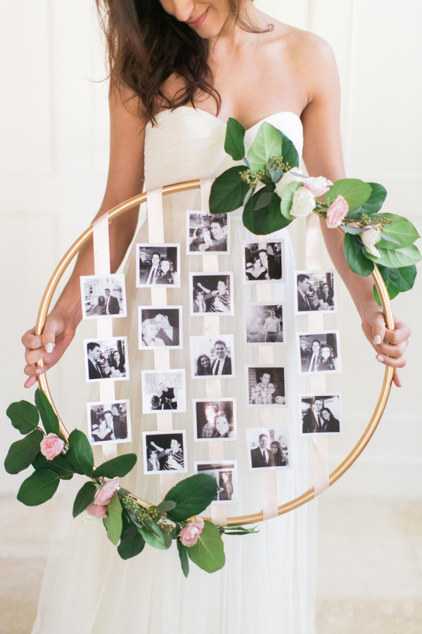 displaying photos at your wedding stylemepretty-com-rutheileenphotography-com