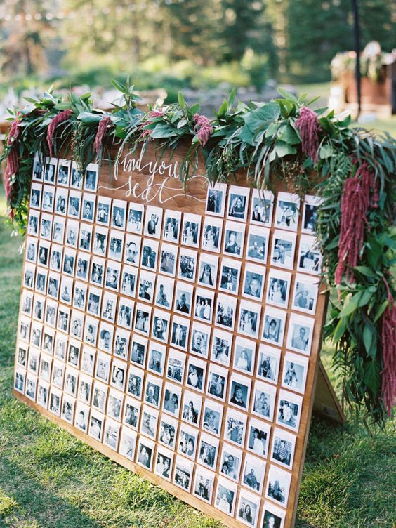 displaying photos at your wedding stylemepretty-com-ryanrayphoto-com