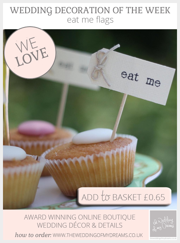 Eat Me Flags for cupcakes available from @theweddingomd