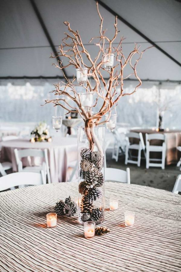 10 magical winter wonderland wedding decorations modwedding-com-tealephotography-net