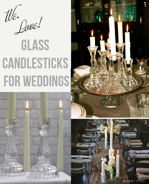 Glass Candlesticks For Weddings we-love-clear-glass-candlesticks-for-weddings