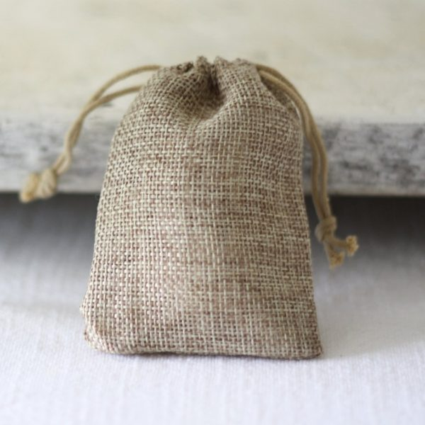 winter wedding favours hessian favour bags buy online from the wedding of my dreams
