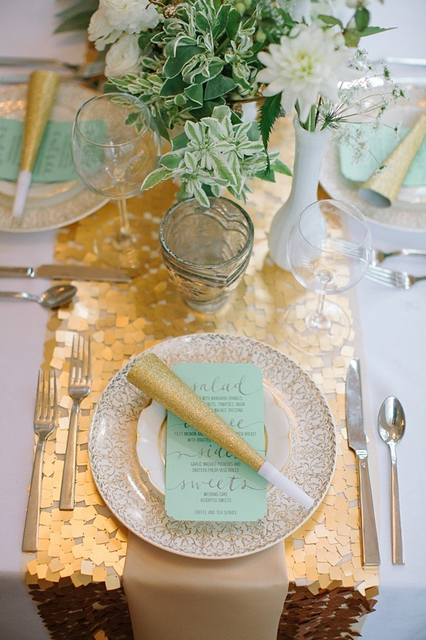 gold sequin table runners wedding