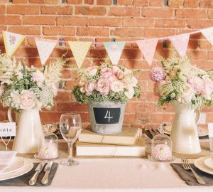 Our Favourite Wedding Centrepieces Under £15 available to buy online from @theweddingomd Blackboard_Bucket_2_1024x1024