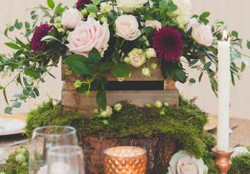 copper and wood wedding ideas The Wedding of My Dreams BLOG