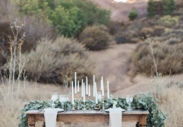 gold candlesticks wedding