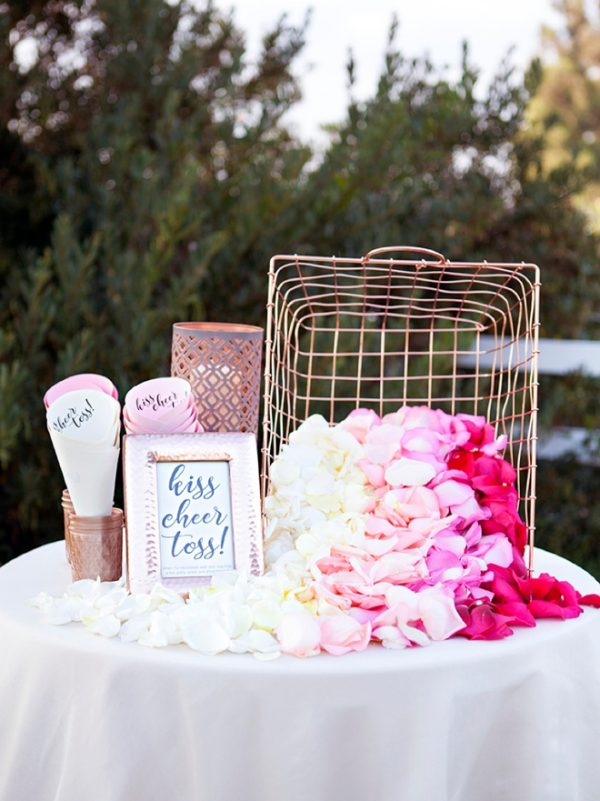 Create A Wedding Confetti Bar For Your Guests  somethingturquoise-com