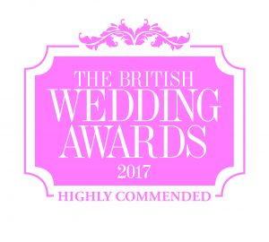 British Wedding Awards 2017 Highly Commended Wedding Decorations