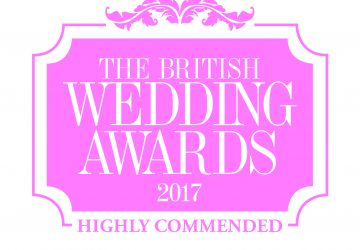 British Wedding Awards 2017 Highly Commended Wedding Decorations