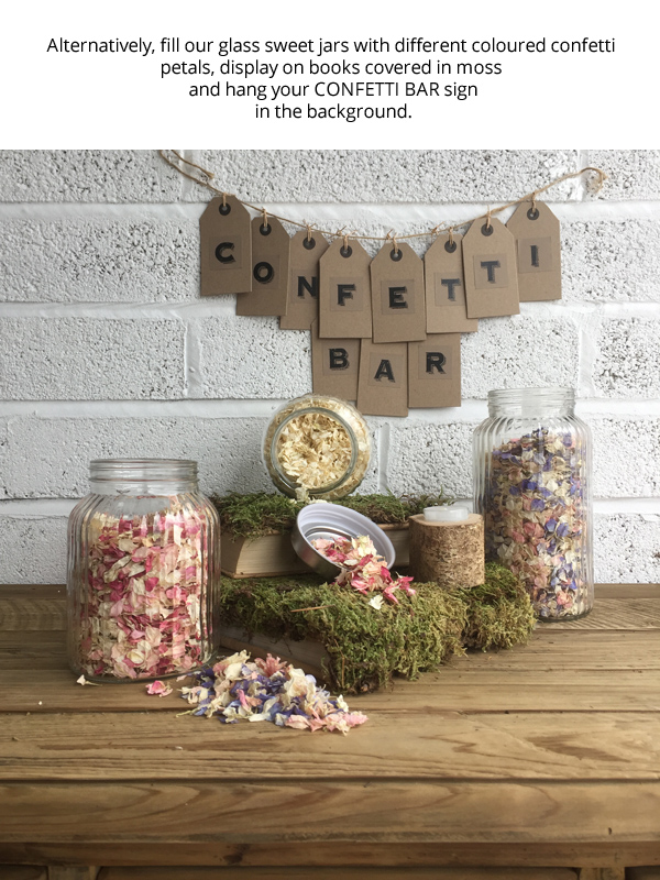 How to make a confetti bar 4