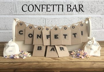 How to make a confetti bar - squre featured image
