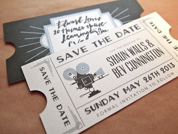 10 Creative Save The Date Ideas frenchweddingstyle.com