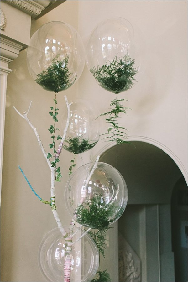 Fabulous fern wedding ideas - wedding balloons