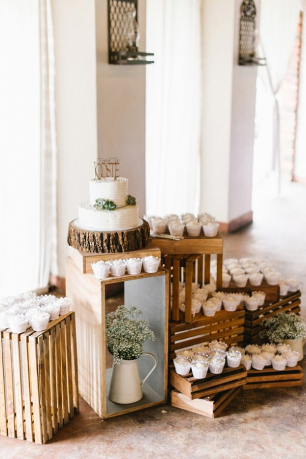 How To Create A Rustic Wedding Dessert Table southboundbride.com - louisevorsterphotography.co.za