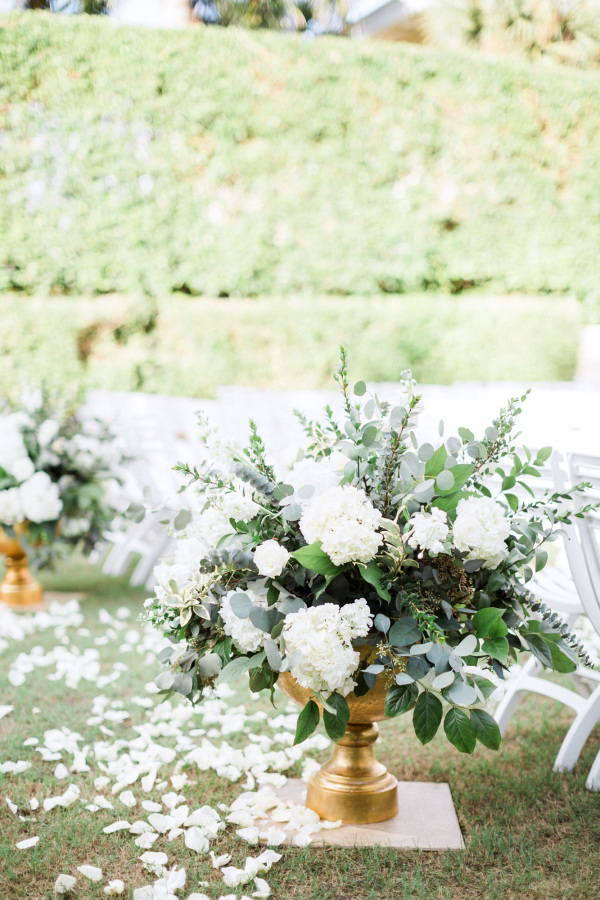 The Best Aisle Decorations For Outdoor Ceremonies stylemepretty.com - hunterryanphoto.com