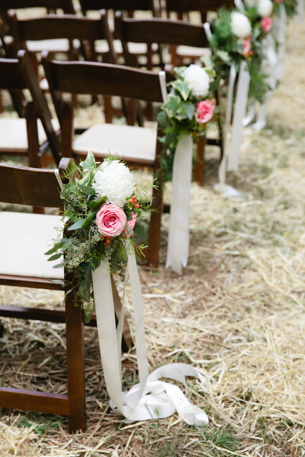The Best Aisle Decorations For Outdoor Ceremonies stylemepretty.com - morgantrinker.com