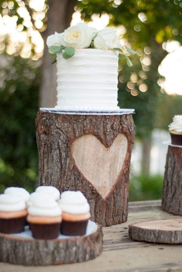 How To Create A Rustic Wedding Dessert Table vintageromancestyle.com