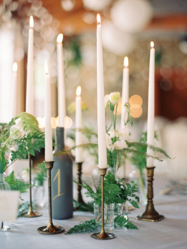 Fabulous fern wedding ideas - wedding centrepieces