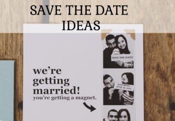 10 creative save the date ideas
