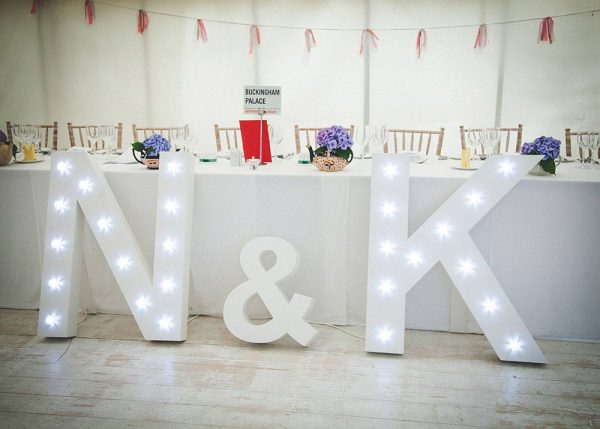 marquee wedding decorations giant light up letters