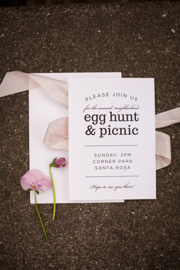 Easter Wedding Ideas stylemepretty.com - jessamynharris.com