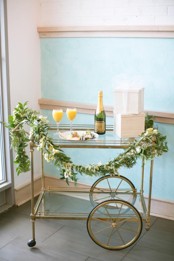 Spring Wedding Drink Station Inspiration stylemepretty.com - kimberlychau.com