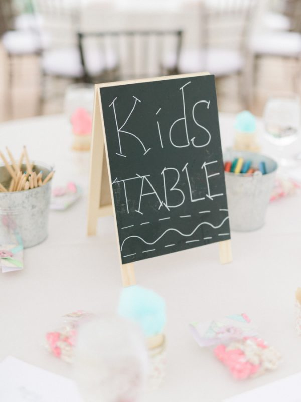 Ideas For Children's Tables At Weddings stylemepretty.com - etherandsmith.com