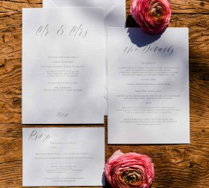 Calligraphy Wedding Stationery Suite - Digital Download / Printable