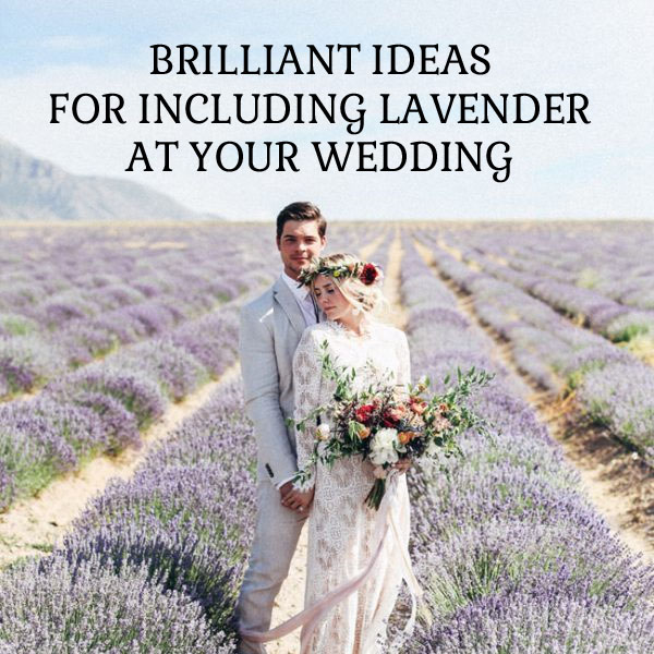 brilliant ideas for including lavender at your wedding sq