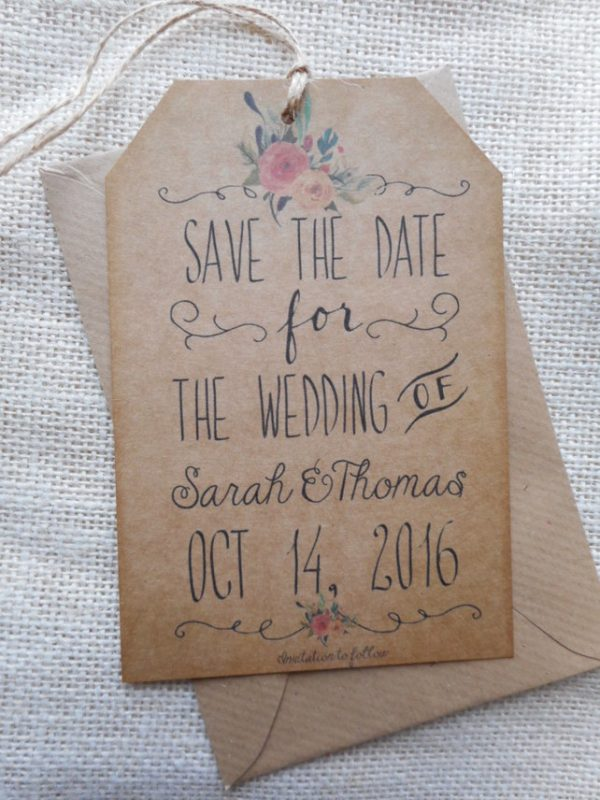 Creative Ways To Use Luggage Tags At Your Wedding folksy.com